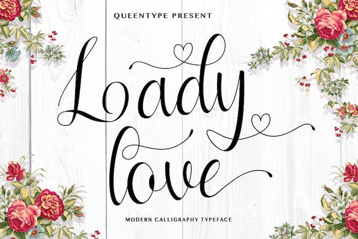 Thumbnail for Ladylove Script