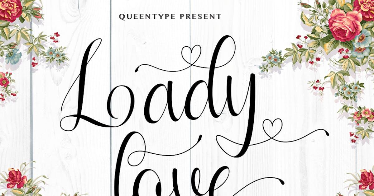 Download Ladylove Script by queentype