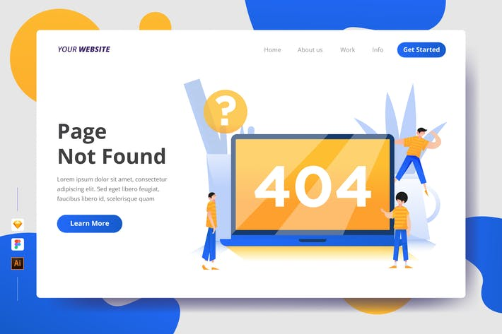 Thumbnail for Page Not Found - Landing Page