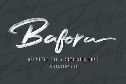 Bafora - Police SVG