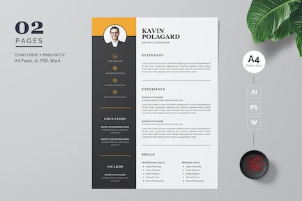 Professional and Modern CV / Resume Template