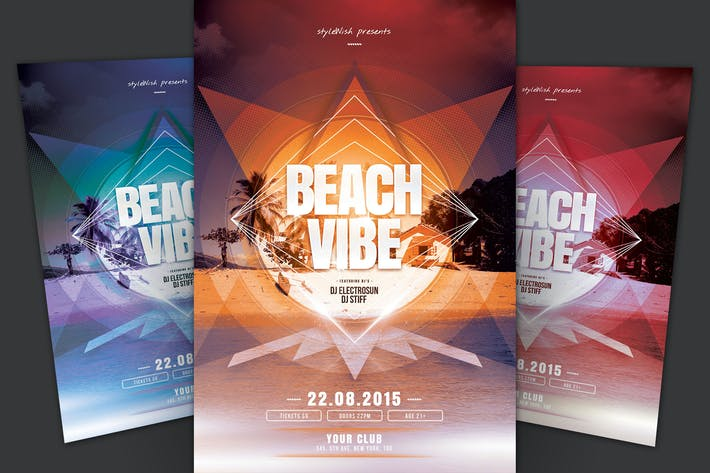Thumbnail for Beach Vibe Flyer