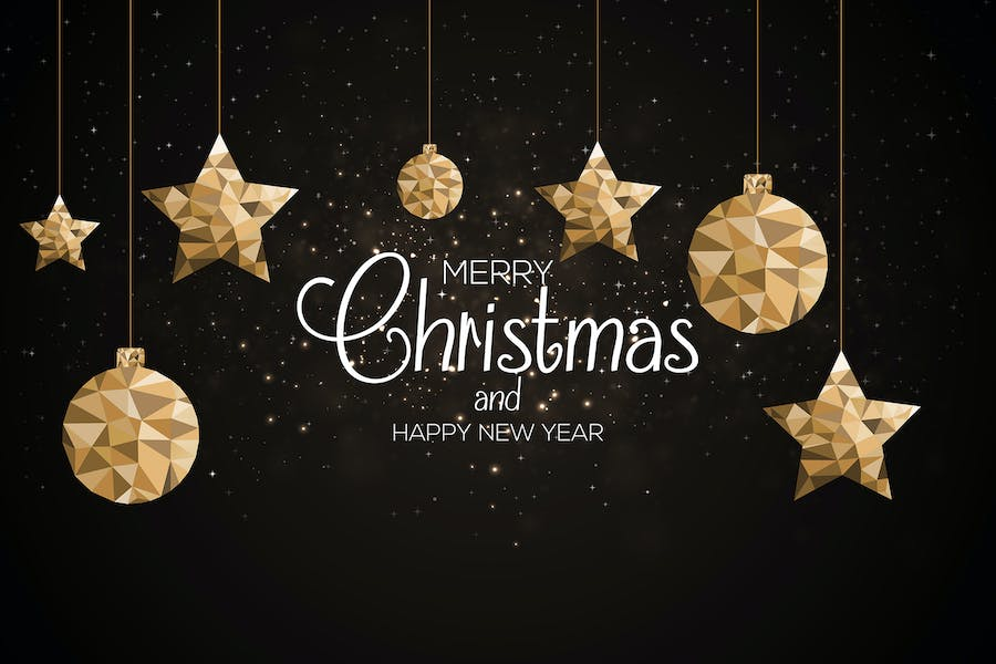 Set of Merry Christmas backgrounds