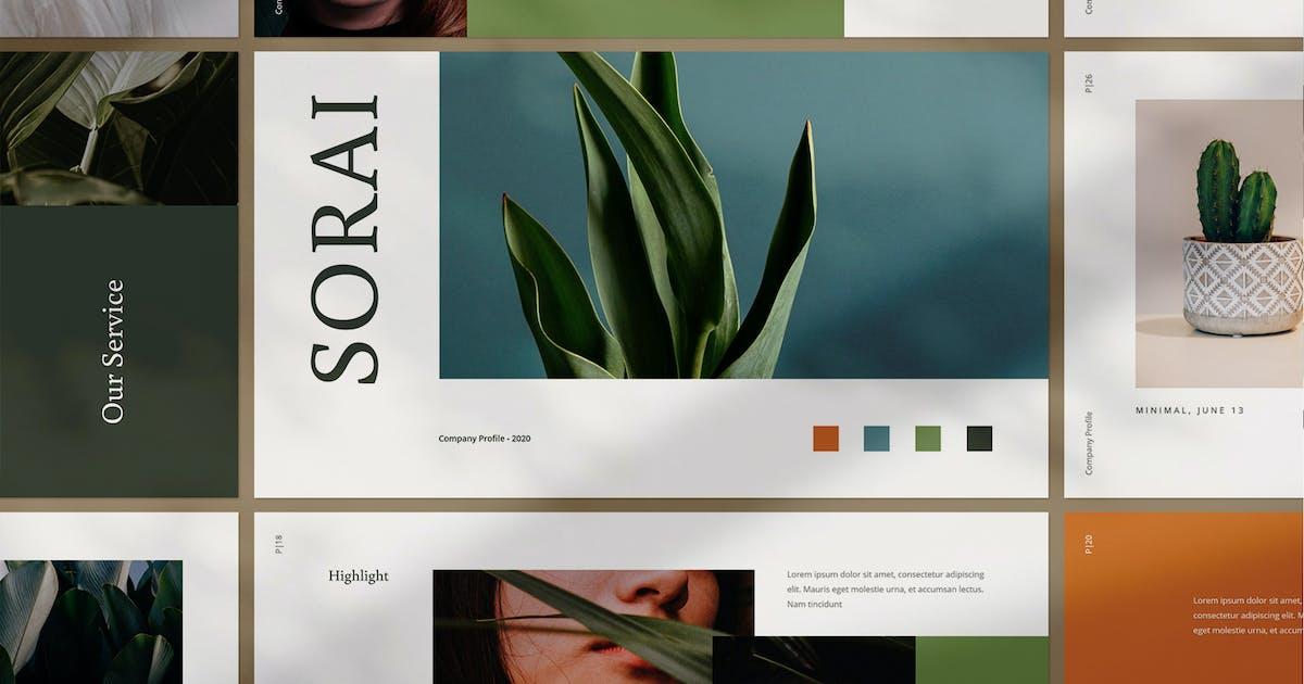 Download Sorai Keynote by VisualColony