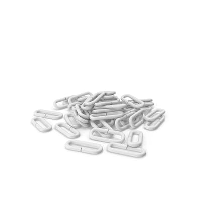 Pile Of Flail Chain Links
