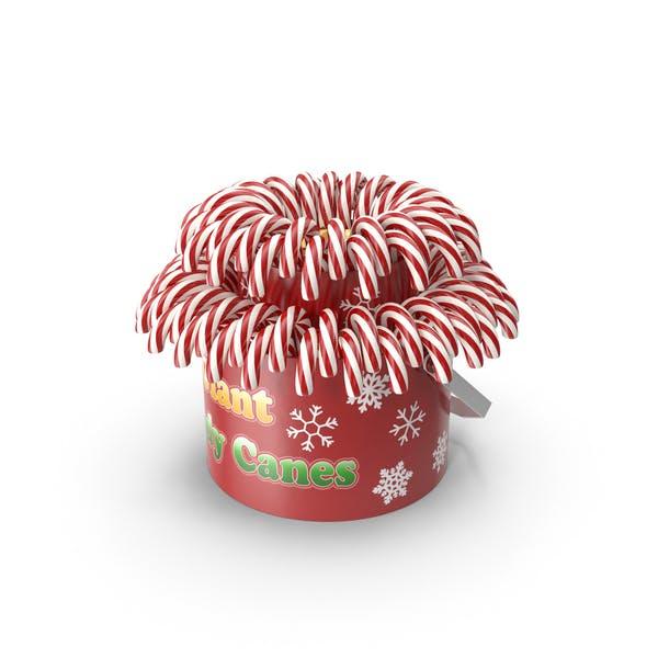 Weihnachts-Zuckerstangen