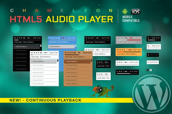 Thumbnail for HTML5 Audio Player WordPress Plugin