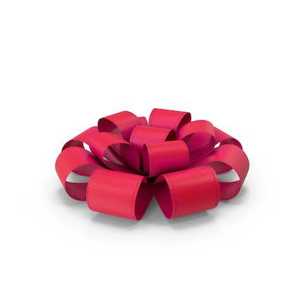 Ribbon Bow Red