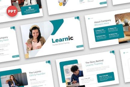 Learnic - Online Training Powerpoint