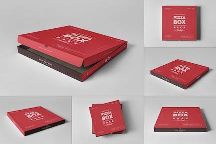 42 Pizza Box Mock-up