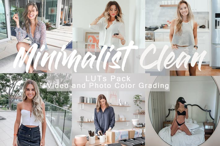 Thumbnail for MINIMALIST CLEAN -  LUTs Pack for Video and Photo