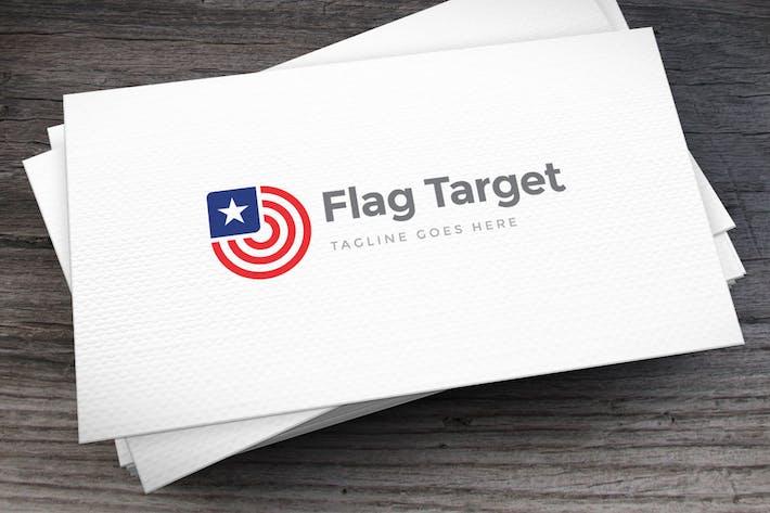 Thumbnail for Flag Target Logo Template