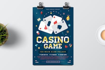 Poker Play Flyer