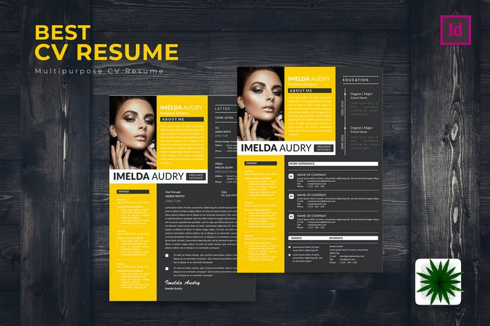 Thumbnail for Best CV Resume Template