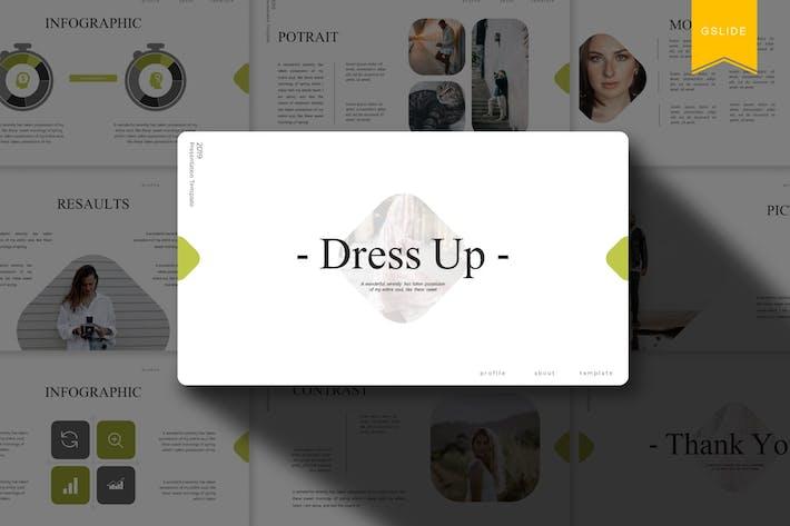 Одеваются | Шаблон слайдов Google