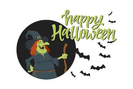 Happy Halloween Poster - Illustration
