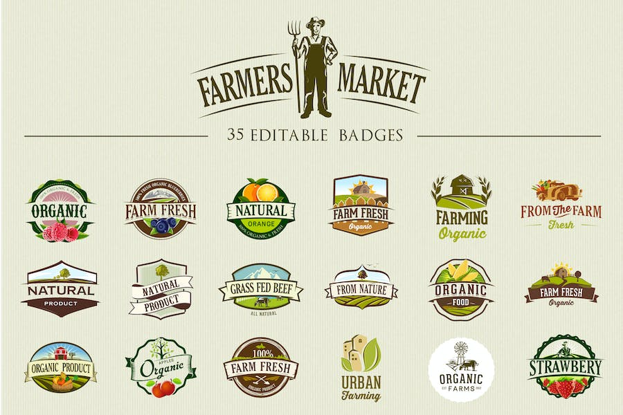100+ Best Free Badges Vector & PSD 4