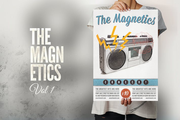 Thumbnail for The Magnetics Flyer Poster