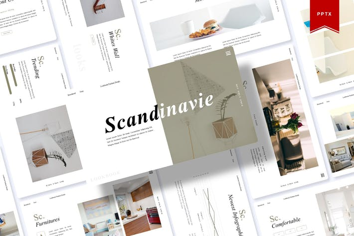 Thumbnail for Scandinave | Powerpoint Template
