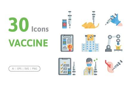 30 Vaccine Icons