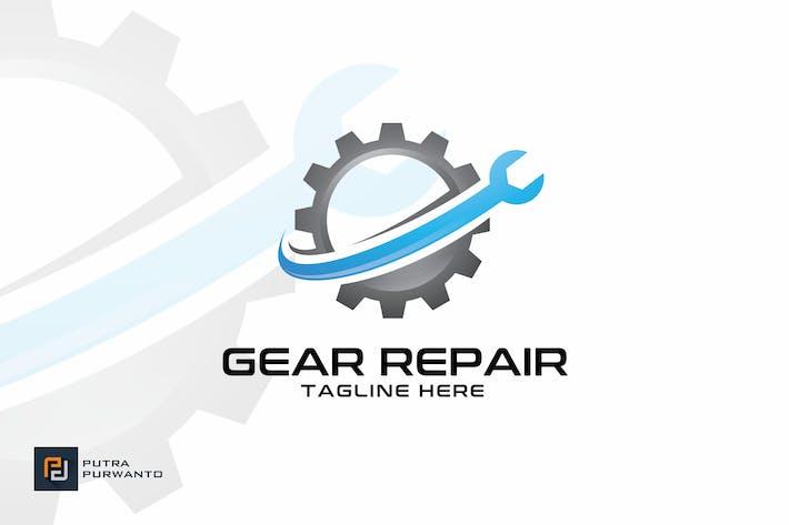 Cover Image For Gear Repair - Logo Template