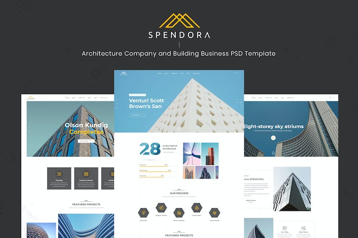 Thumbnail for Spendora - Architecture and Building Business