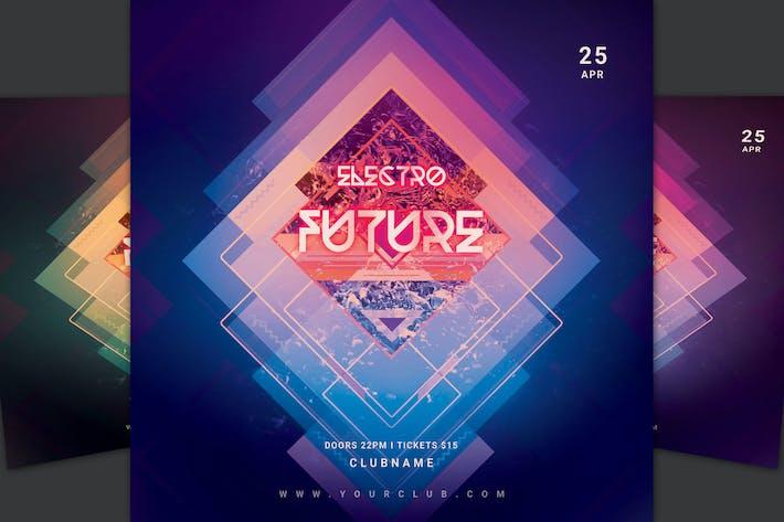 Thumbnail for Electro Future Flyer