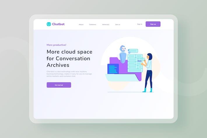 Thumbnail for Cloud Space Conversation Archives website