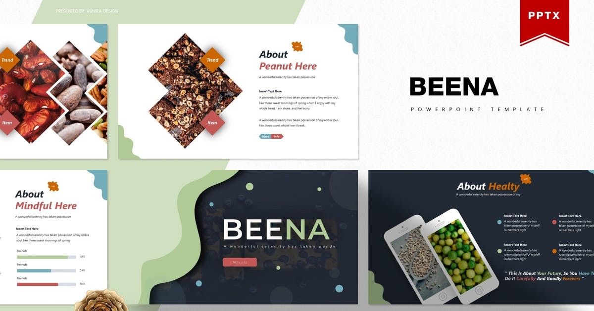 Download Beena   Powerpoint Template by Vunira