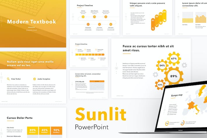 Thumbnail for Sunlit PowerPoint Template
