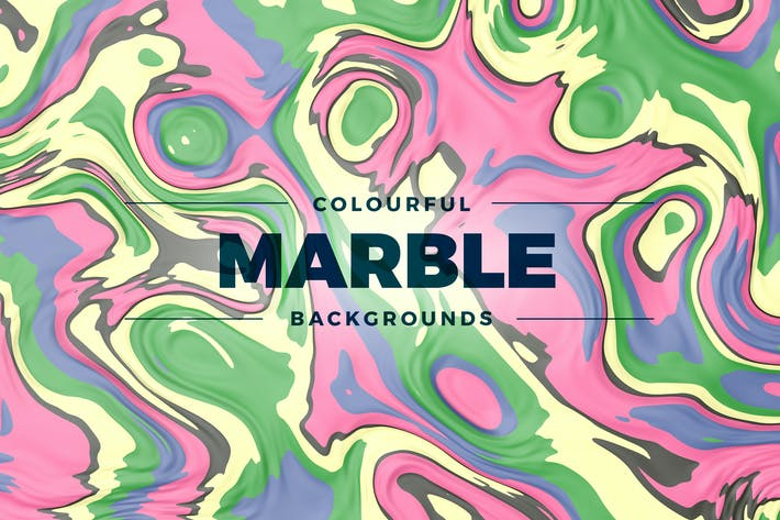 Thumbnail for Colorful Marble Backgrounds
