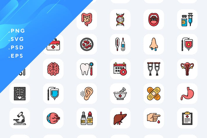 Thumbnail for 50 Medical Icons