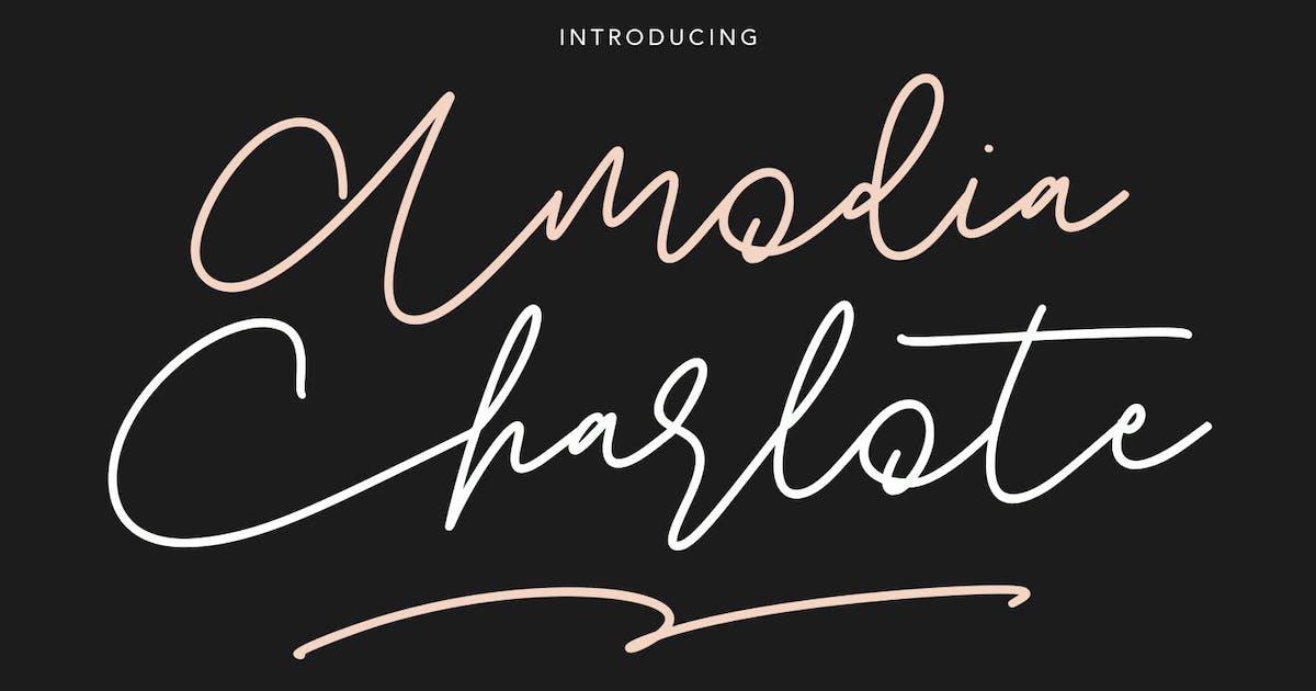 Download Amodia Charlote Signature Font by maulanacreative