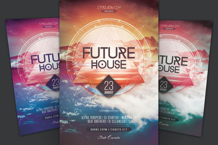 Thumbnail for Future House Flyer