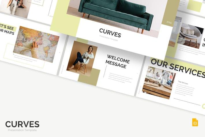Thumbnail for Curves - Google Slides Template