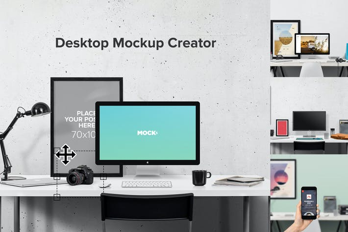 Thumbnail for Desktop Mockup Creator