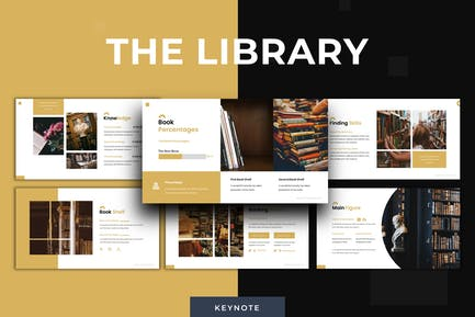 The Library - Keynote Template