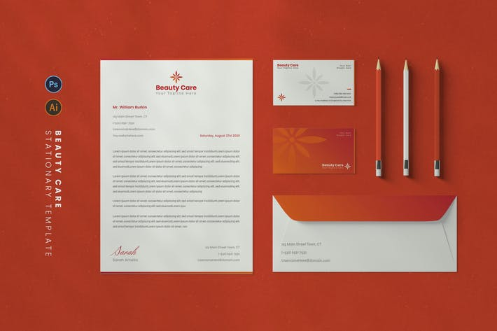 Thumbnail for Beauty Care Stationary