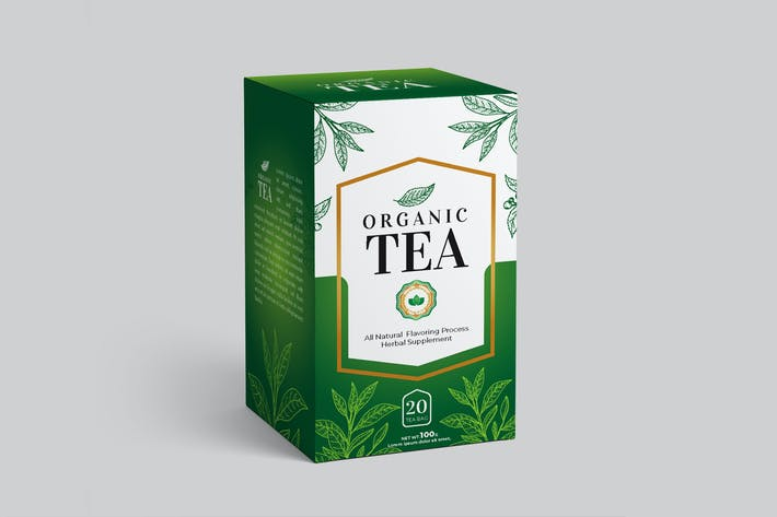 Thumbnail for Tea Box Packaging Design