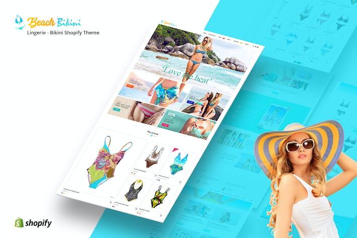 Thumbnail for Bikini Plage - Lingerie, Bikini Shopify Thème