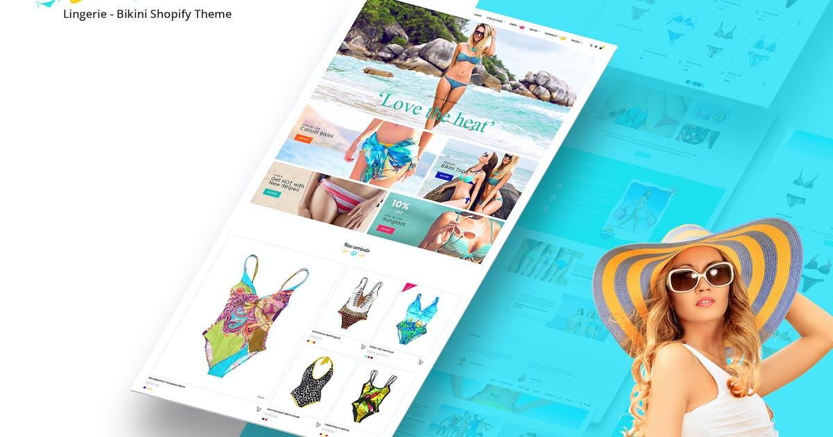 Download Bikini Beach - Lingerie, Bikini Shopify Theme by BuddhaThemes