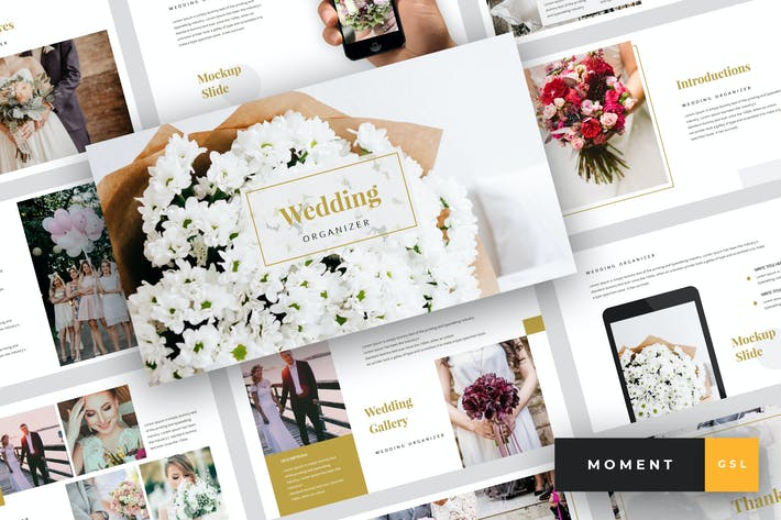 Cover Image For Moment - Wedding Google Slides Template