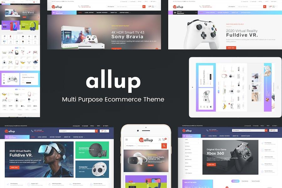 Allup - Multipropósito Responsive Prestashop Tema