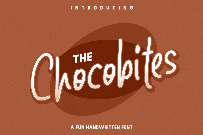 Thumbnail for The Chocobite - Fun Handwritten Font