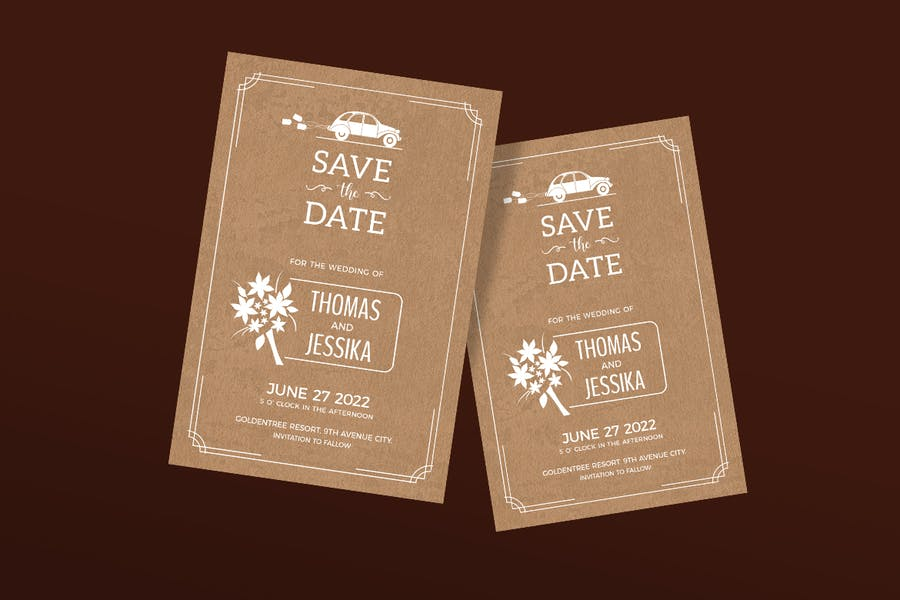 Save the Date / Wedding Invitation