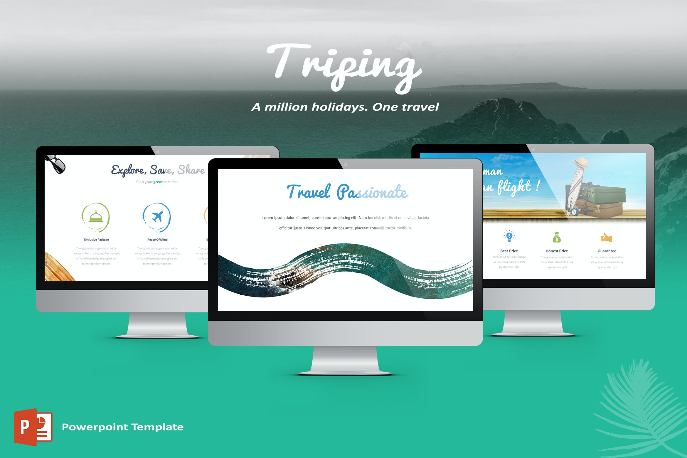 Triping Travel Powerpoint Template By Inspirasign On Envato Elements