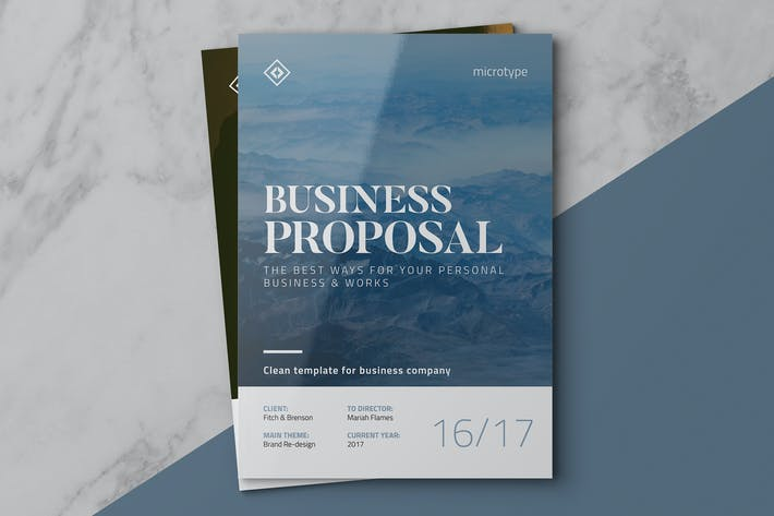 Download 1185 Branding Proposal Templates Page 5