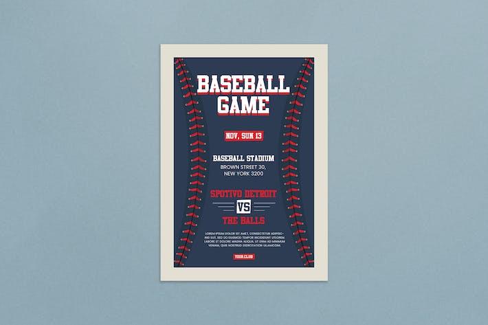 Thumbnail for Baseball Flyer
