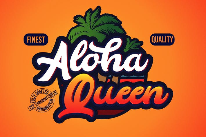 Thumbnail for Aloha - Casual Bold Typeface