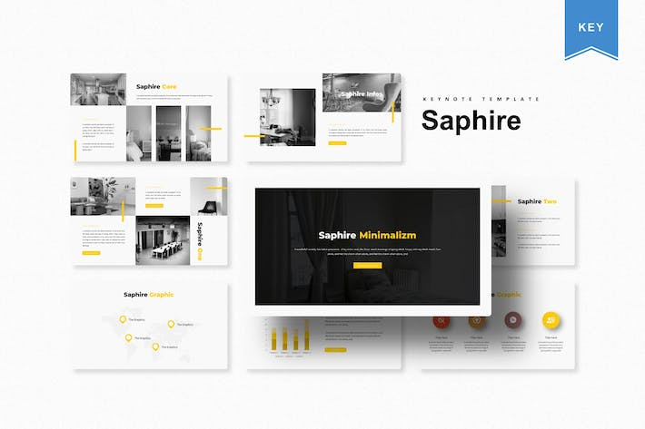 Thumbnail for Saphire | Keynote Template